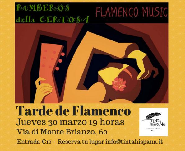 Flamenco a Roma Rumbos della Certosa