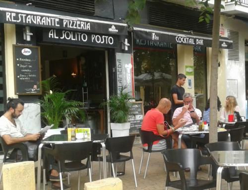 Italiani a Siviglia: comprare mangiare parlare italiano