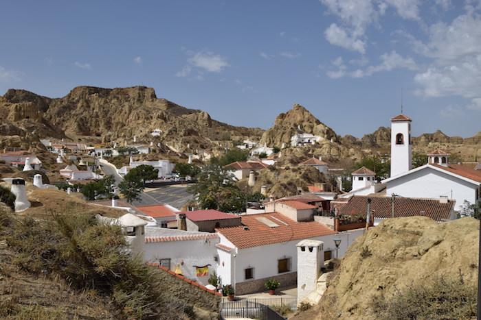 Guadix, le cuevas della provincia di Granada